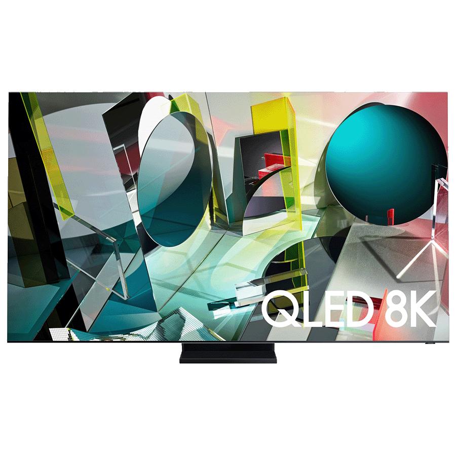 Samsung Q95T 216cm (85 inch) 8K UHD QLED Smart TV (QA85Q950TSKXXL, Stainless Steel)_1