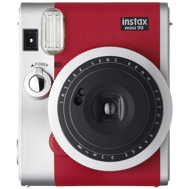 Fujifilm Instax Mini 90 Instant Camera (Double Exposure Mode, Red)_1