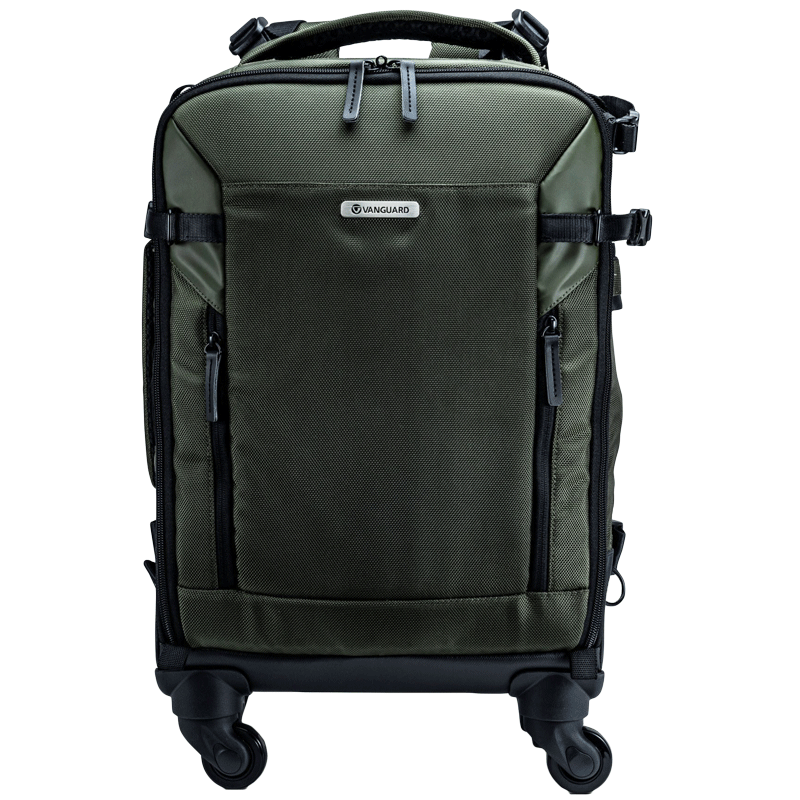 Vanguard Veo Select Polyester Camera Trolley Backpack for DSLRs or Mirrorless, CSC, Hybrid Cameras (Safe Storage, 55BT, Green)_1