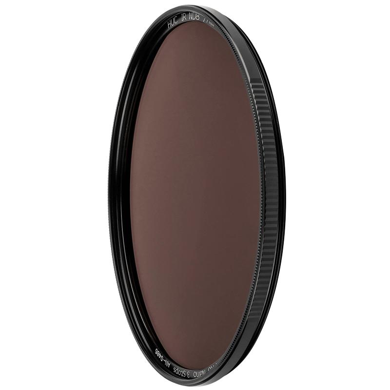 NiSi HUC Pro 67 mm Nano IR Neutral Density Filter for All Camera (Ultra Slim Frame, ND8, Black)_1