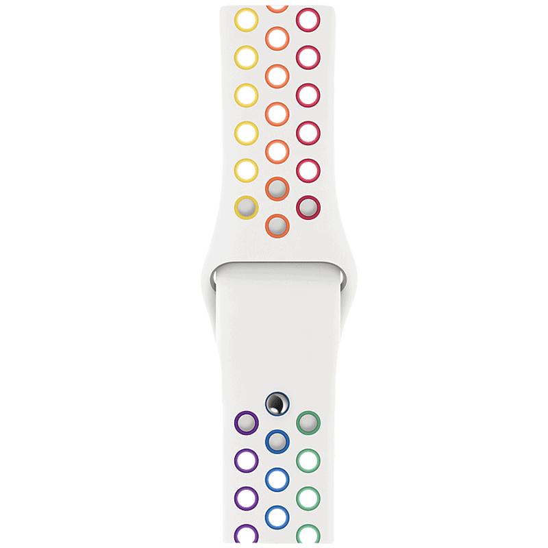Apple Pride Edition Nike 40 mm Apple Watch Strap (MYD52ZM/A, Pride)_1