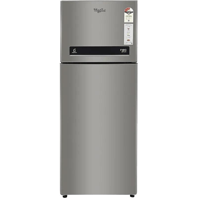 Whirlpool 265 L 3 Star Frost Free Double Door Refrigerator (NEO DF278 PRM, Alpha Steel)_1