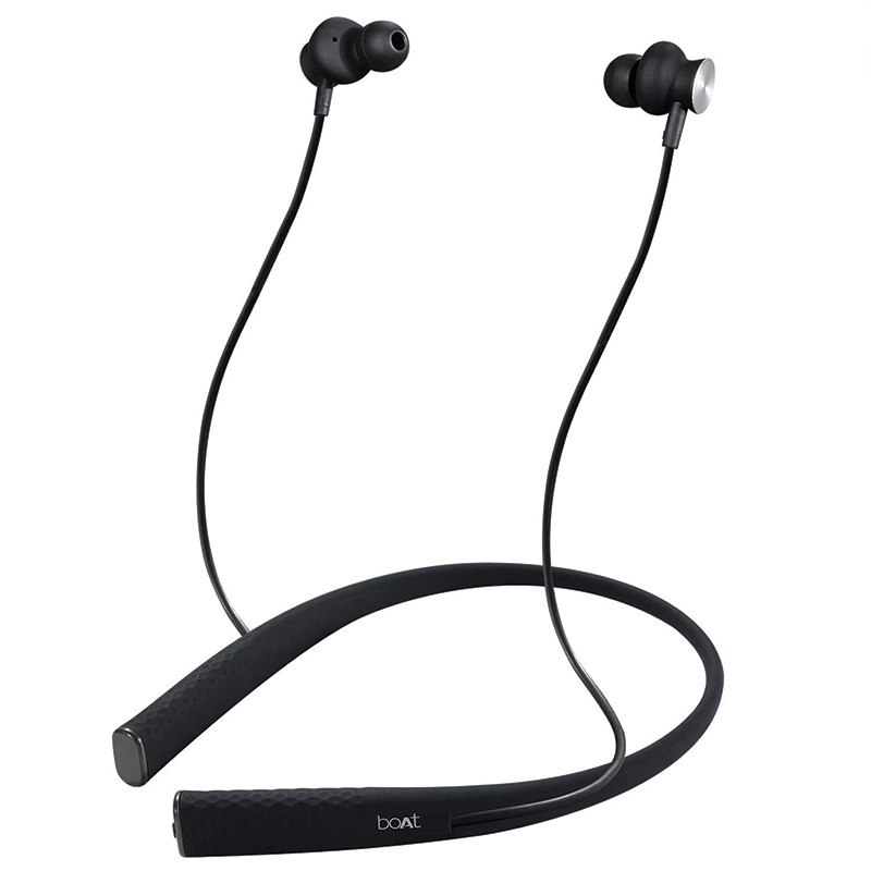 Boat Rockerz 275 Bluetooth Earphone with Mic (Black)_1
