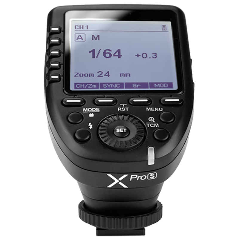 Godox Wireless Flash Trigger For Sony Cameras (32 Channels, Xpro-S, Black)_1