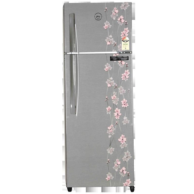 Godrej 290 L 3 Star Frost Free Double Door Refrigerator (RT EON 290 P 3.4, Silver Meadow)_1