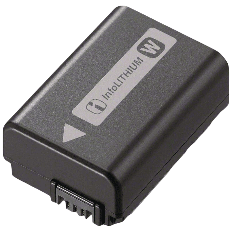 Sony W-Series 1500 mAh Lithium-ion Rechargeable Camera Battery Pack (NP-FW50, Black)_1
