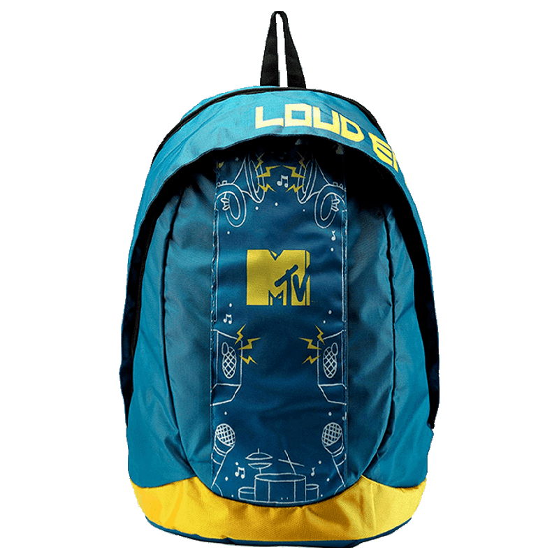 Croma 15 inch Laptop Backpack (MTVBP01, Yellow)_1