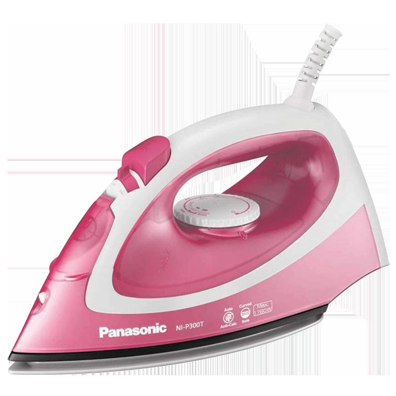 Panasonic 1780 Watt Steam Iron (NI-P300TRSM, Pink)_1