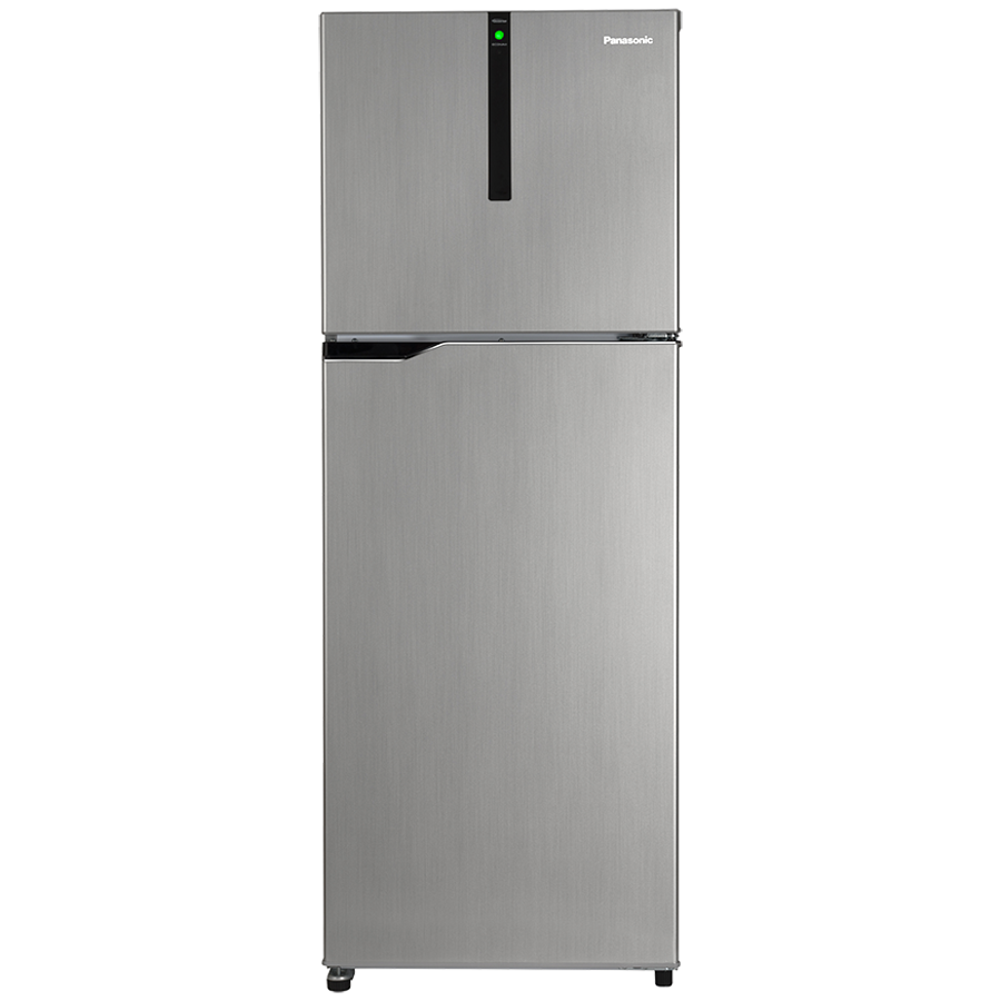 Panasonic 336 Litres 3 Star Frost Free Inverter Double Door Refrigerator (ECONAVI: Smart Cooling Technology, NR-BG343VGG3, Glitter Grey)_1