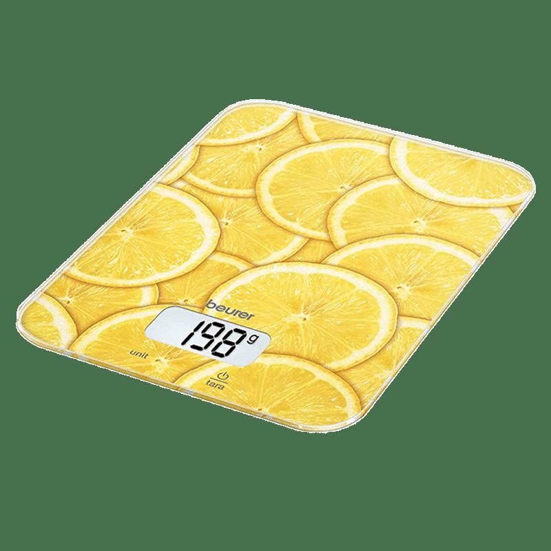 Beurer Lemon KS 19 Kitchen Weighing Scale (Yellow)_1