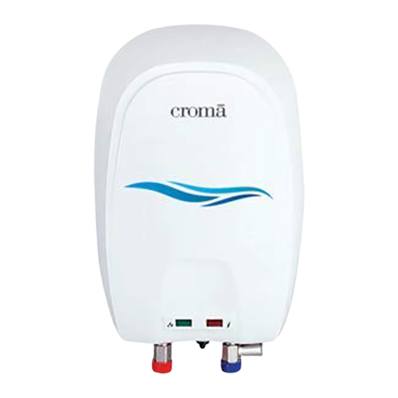 Croma 3 Litres Vertical Instant Water Geyser (CRAG8002, White)_1
