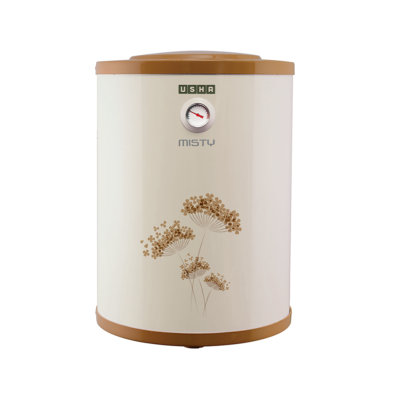 Usha Misty 25 Litres Vertical Storage Water Geyser (4687120259N, Ivory/Gold)_1