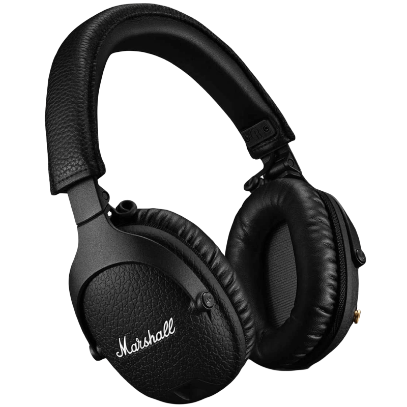 Marshall Monitor II Over-Ear Active Noise Cancellation Wireless Headphone with Mic (Bluetooth 5.0, MS-MNTRANCBT, Black)_1
