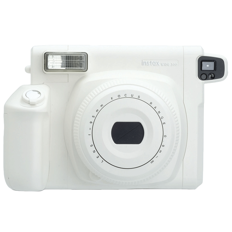 Fujifilm Instax WIDE 300 Instant Camera (Wider Frame Fit, White)_1