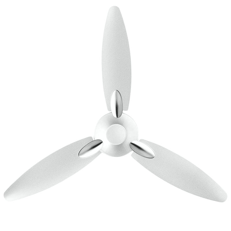 Usha Bloom Daffodil 125cm 3 Blade Ceiling Fan (Sparkal White)_1