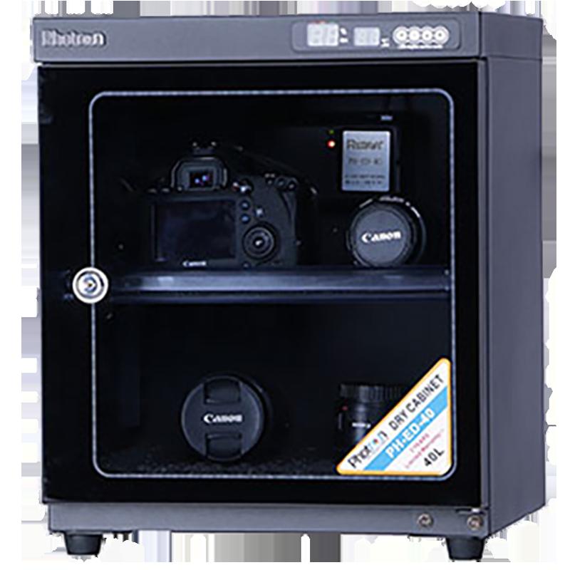 Photron Dry Cabinet For DSLR Cameras & Lens (5 Watts Power,PH-ED-40, Black)_1