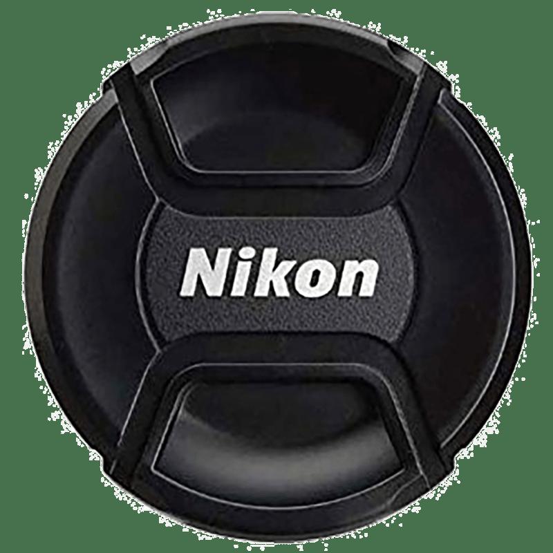 Nikon LC-72 Lens Cap For 72 mm Lens (Plastic Body Material, JAD10501, Black)_1