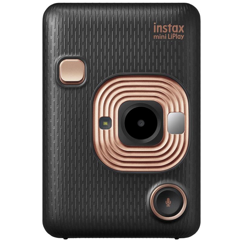Fujifilm Instax Mini LiPlay Instant Camera (Pick and Print, Elegant Black)_1