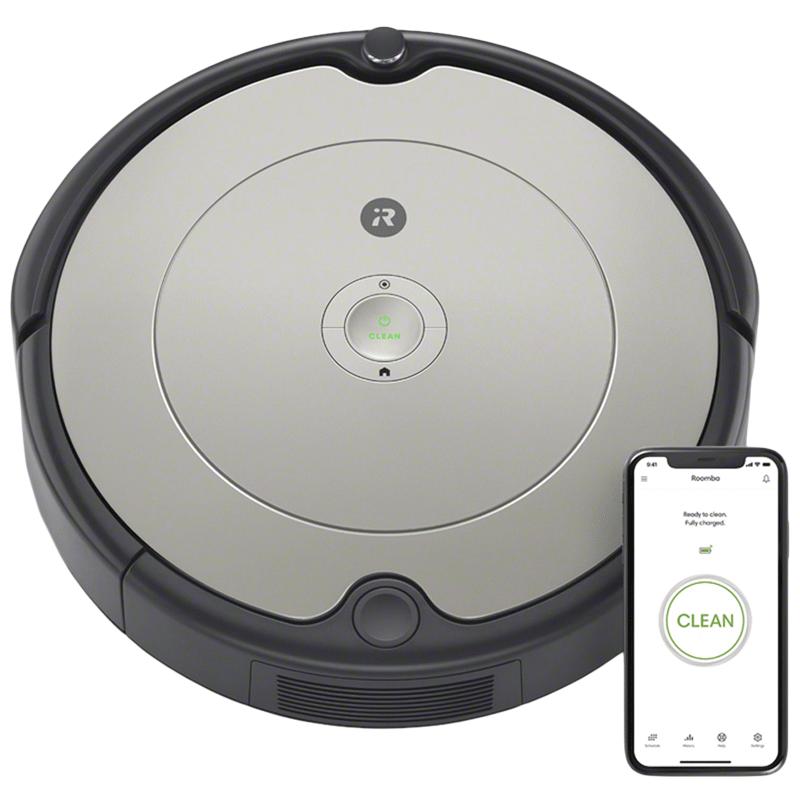 iRobot Roomba Robotic Vacuum Cleaner (698, Grey)_1