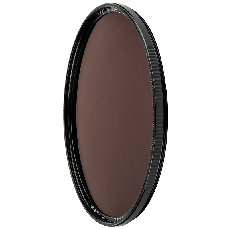 NiSi HUC Pro 62 mm Nano IR Neutral Density Filter (Ultra Slim Frame, ND8, Black)_1