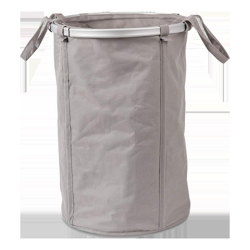 Sabichi Round Foldable Laundry Basket (183170, White)_1