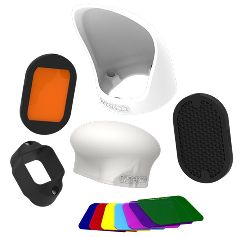 Magmod Professional Flash Kit For DSLR Cameras (Magnetic Attachment, MMPROKIT01, Multicolour)_1