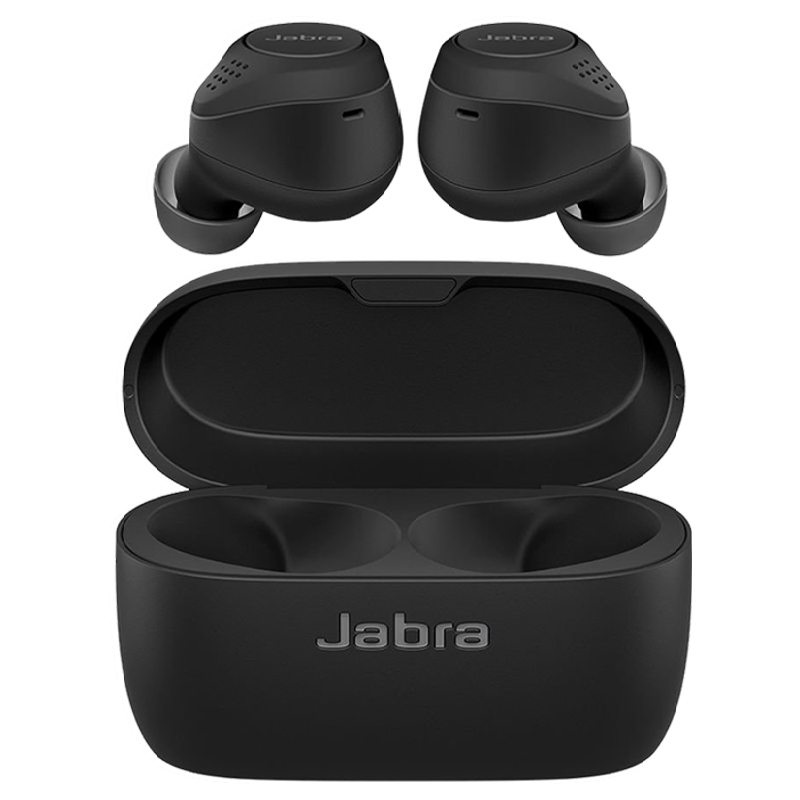 Jabra Elite 75t In-Ear Active Noise Cancellation Truly Wireless Earbuds with Mic (Bluetooth 5.0, Voice Assistant Supported, 100-99090001-40, Black)_1