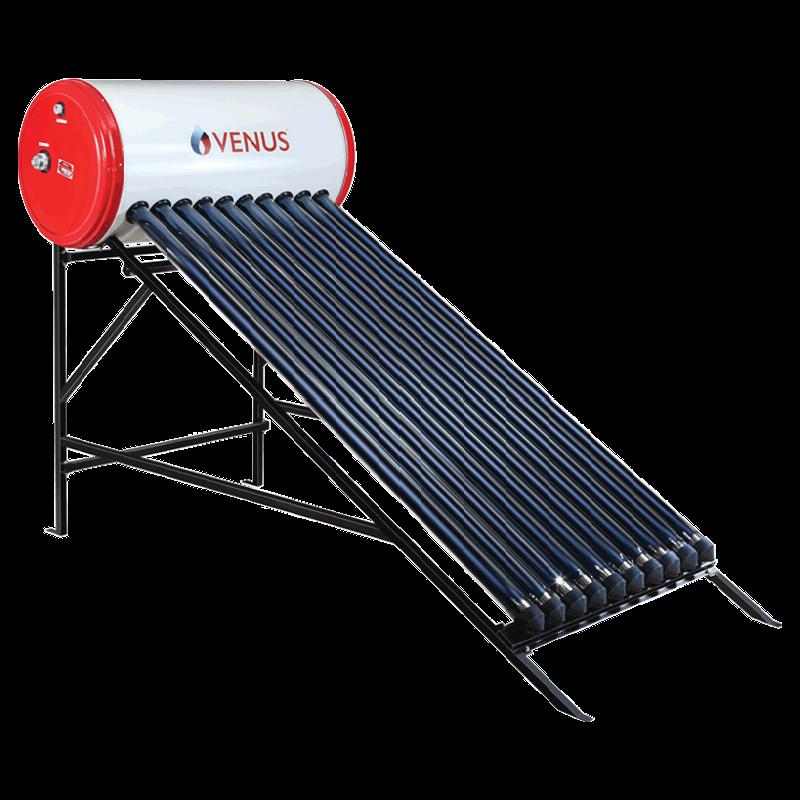 Venus Mercury 100 Litres Solar Water Geyser (2000 Watts, VTC, White)_1