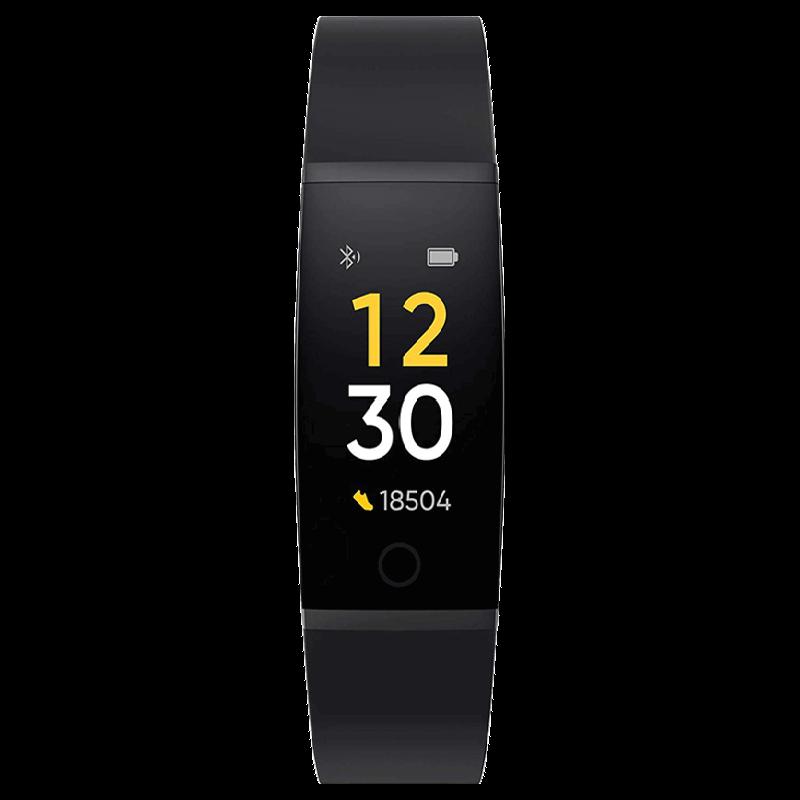 Realme Fitness Tracker (24mm) (Heart Rate Sensor, RMA183B, Black, TPU Band)_1