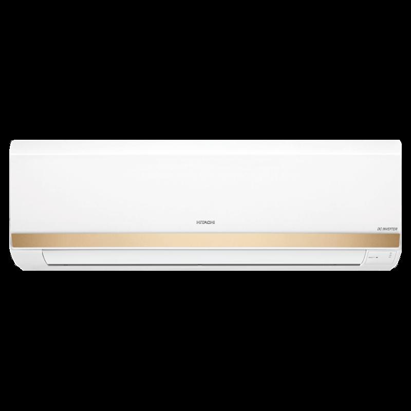 Hitachi Kashikoi 5100X 1.5 Ton 5 Star Inverter Split AC (Copper Condenser. RSOG518HDEA, Gold)_1