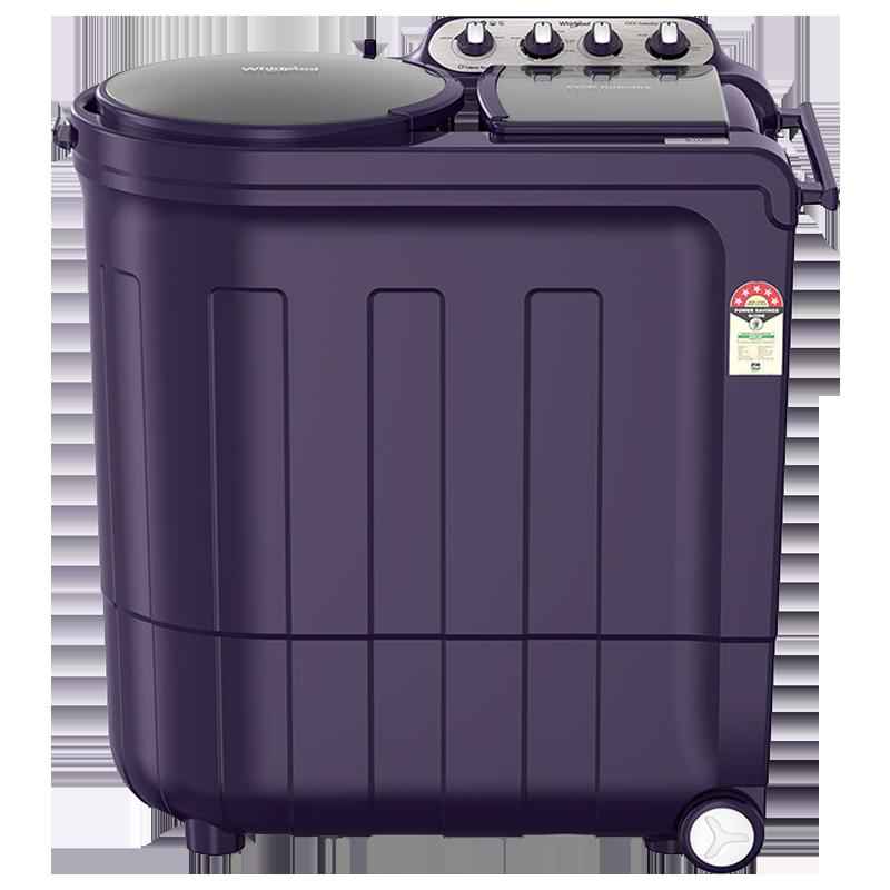 Whirlpool 8 Kg 5 Star Semi Automatic Top Loading Washing Machine (Ace TurboDry, Purple Dazzle)_1
