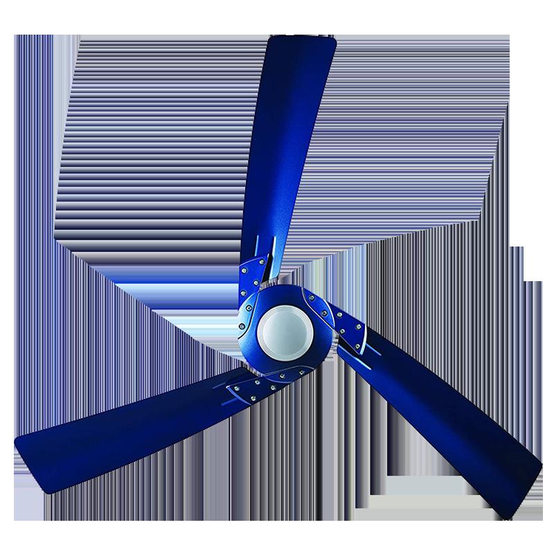 Bajaj Euro NXG Anti Germ Bye-Bye Dust 120cm Sweep 3 Blade Ceiling Fan (Aerodynamic Design, 250994, Cobalt Blue)_1