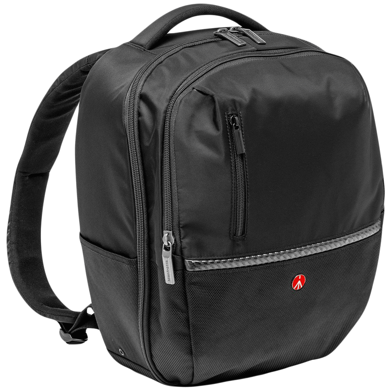 Manfrotto Gearpack M Advanced Camera and Laptop Backpack (External Tripod Connections, MB MA-BP-GPM, Black)_1