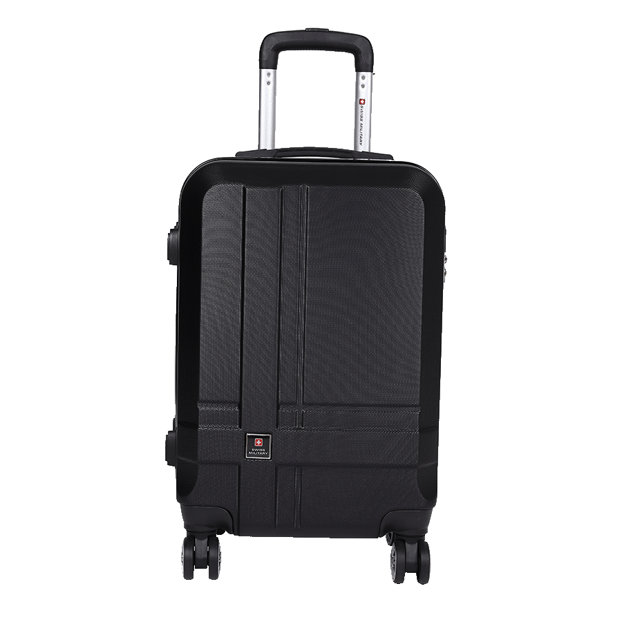 Swiss Military 42 Litres Trolley Bag (HTL82, Black)_1