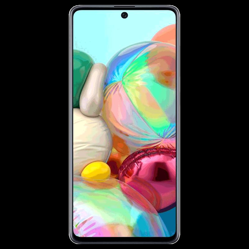 Samsung Galaxy A71 (Silver, 128 GB, 8 GB RAM)_1
