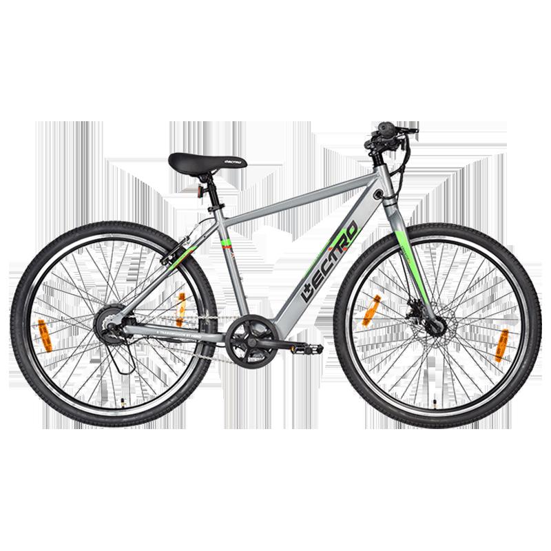 Hero Lectro Essentia TX 27.5T Single Speed Unisex Electric Bike (SESS27GYGY01HM, Grey)_1