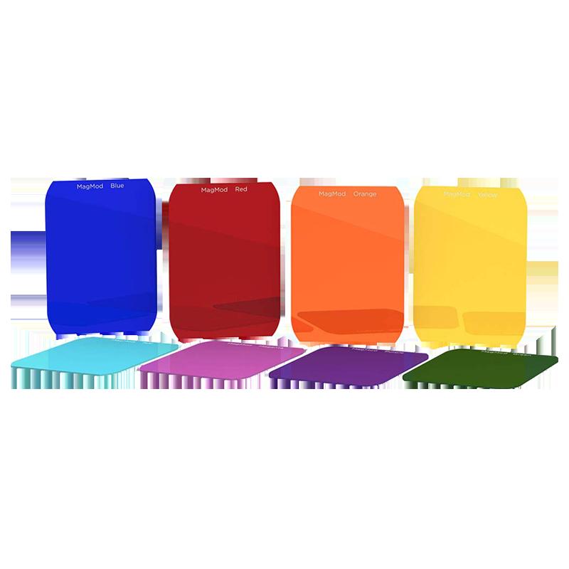 Magmod Creative Gel Set For DSLR Cameras (Rigid and Durable Design, MMCRGEL02, Multicolor)_1