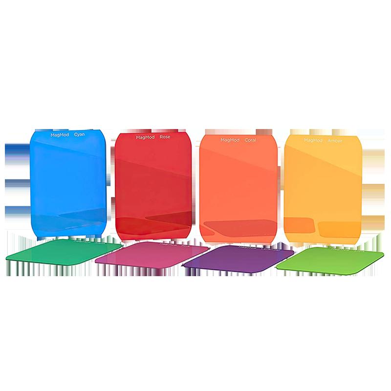 Magmod Artistic Gel Set For DSLR Cameras (Rigid and Durable Design, MMARGEL02, Multicolor)_1