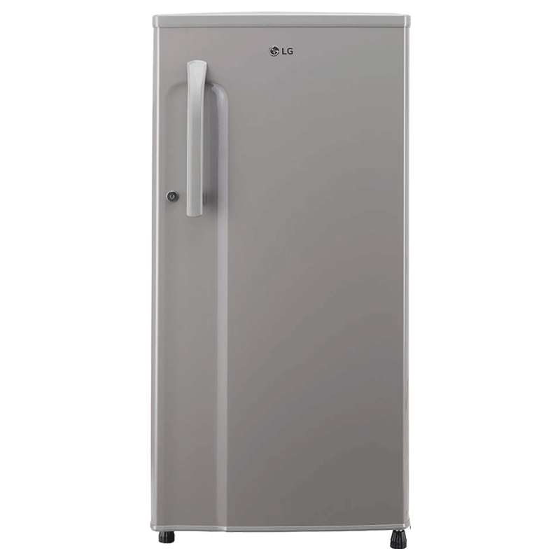 LG 188 Litres 3 Star Direct Cool Single Door Refrigerator (Anti Bacterial Gasket, GL-B191KDGD.ADGZEB, Dim Grey)_1