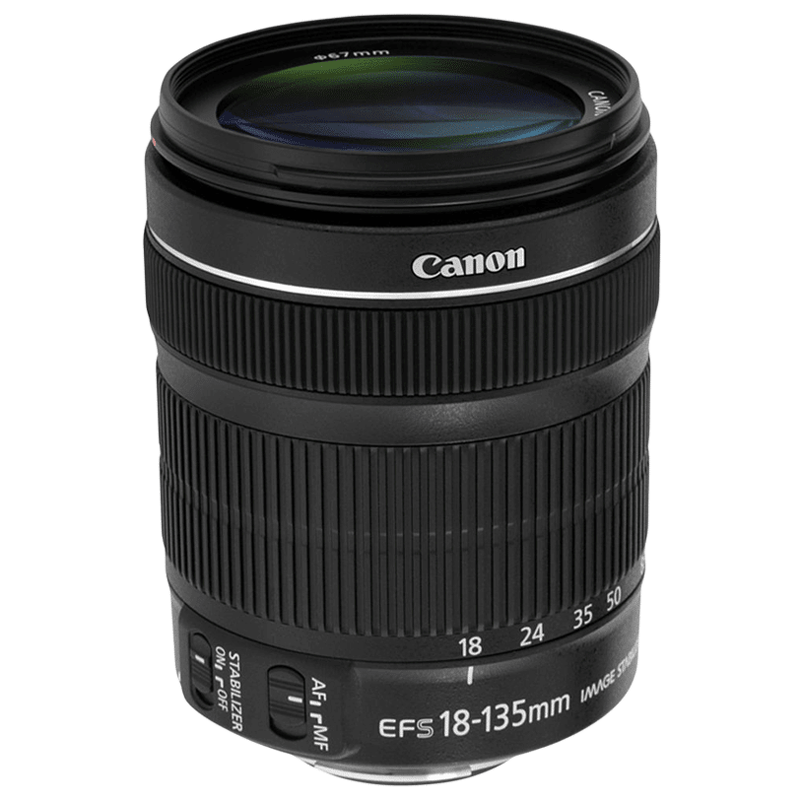 Canon Standard Zoom Lens (EF-S 18 - 135 mm f/3.5-5.6 IS, Black)_1
