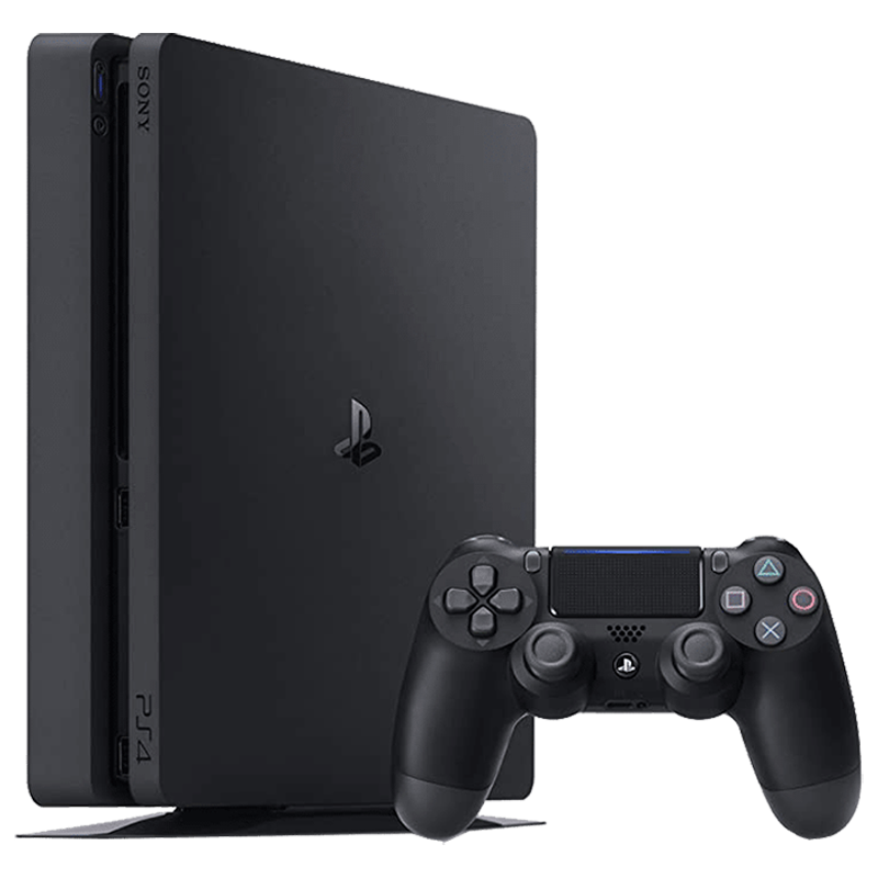Sony PS4 1 TB Slim Gaming Console with Free Games (Sony PS4 1TB DG+GO, Black)_1