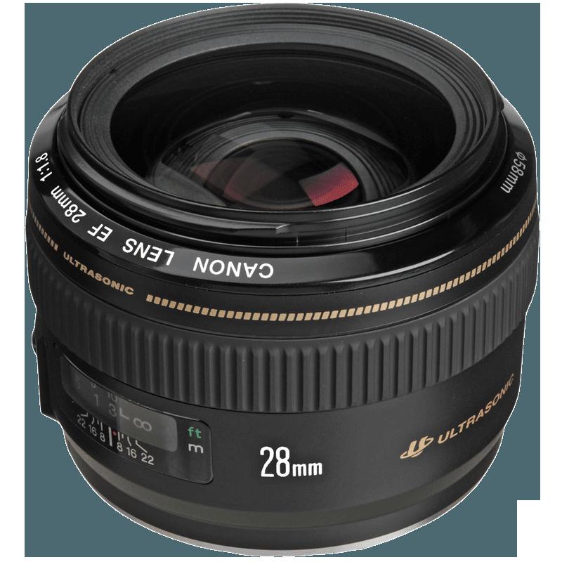 Canon Wide Angle Lens (EF 28 mm f/1.8 USM, Black)_1