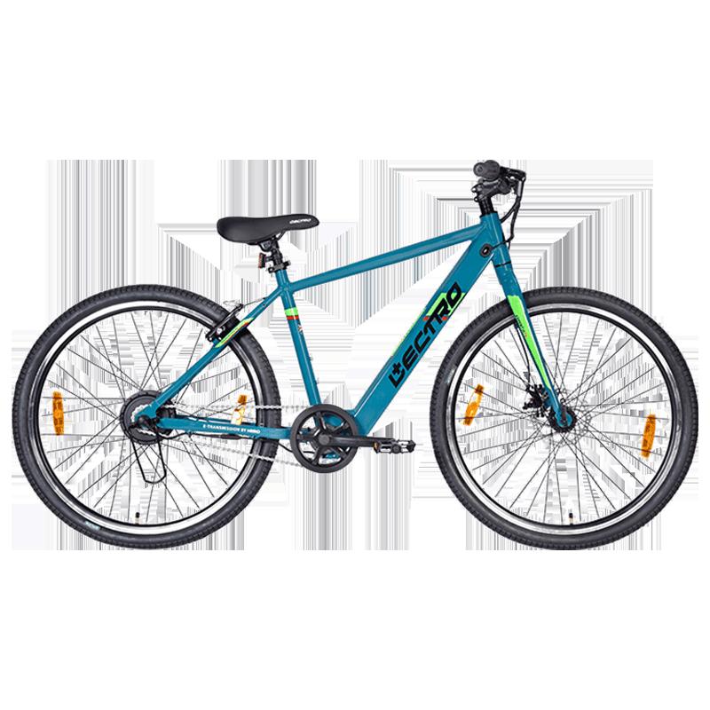 Hero Lectro Essentia Single Speed Unisex Electric Bike (SESS27BLBL01HM, Blue)_1