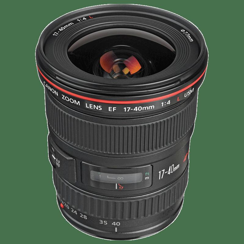 Canon Ultra Wide Angle Lens (EF 17-40 mm f/4L USM, Black)_1