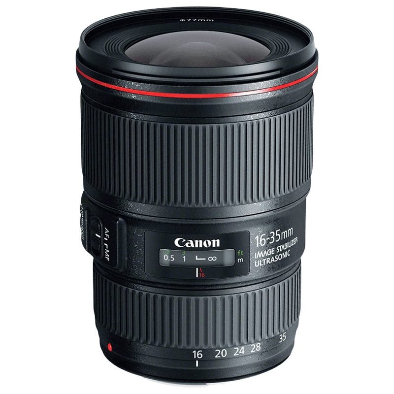 Canon Wide Angle Zoom Lens (EF 16-35 mm f/4L IS USM, Black)_1