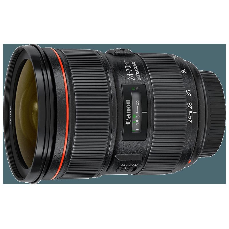 Canon Standard Zoom Lens (EF 24-70 mm f/2.8L II USM, Black)_1