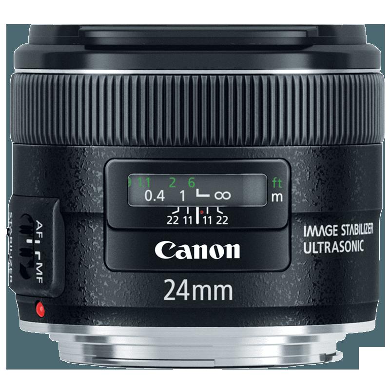 Canon Wide Angle Lens (EF 24 mm f/2.8 IS USM, Black)_1