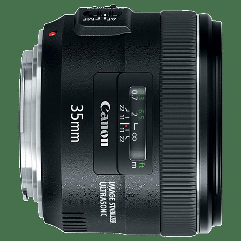 Canon Lens (EF 35 mm f/2 IS USM, Black)_1