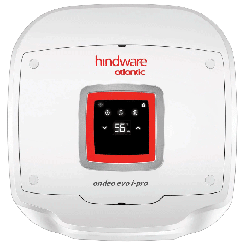Hindware Atlantic Ondeo Evo I-Pro 25 Litres 5 Star Storage Water Geyser (2500 Watts, SWH 25A-2D-I, White)_1