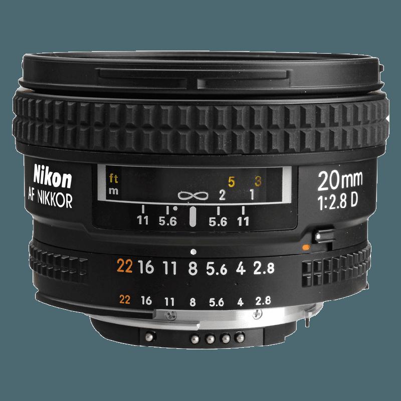 Nikon Nikkor Lens (AF 20 mm f/2.8D, Black)_1
